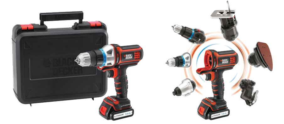 Multiuniverzální aku vrtačka Black and Decker MT18K